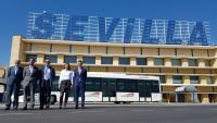 SEVILLE AIRPORT WILL BE THE FIRST ONE IN SPAIN TO PUT INTO SERVICE AN ELECTRIC AIRPORT BUS